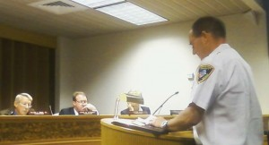 Commissioners Approve Fire Services Contract