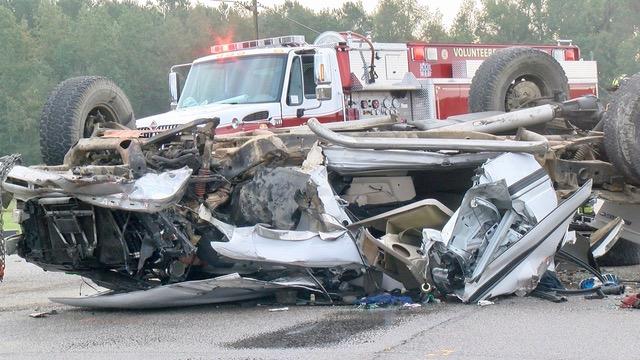 highway patrol  serious crash on highway 50 caused by