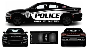 Clayton Police Unveil New Police Car Design | JoCo Report