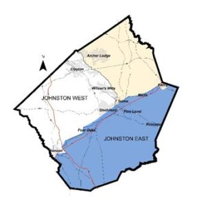 Johnston county water hook up